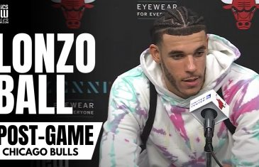Lonzo Ball Reacts to Making His Chicago Bulls Debut, Developing Bulls Chemistry & Possible Lineups